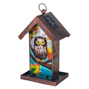 Fountasia Bird Feeder-owl Solar (35044)